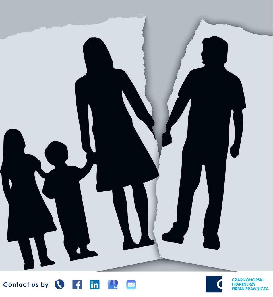 czarnohorski i partnerzy rozwód rodzice dziecko kancelaria prawna opieka nad dzieckiem prawo rodzinne